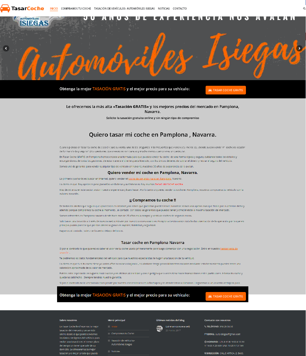 webs de automoviles