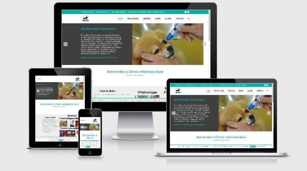 diseño paginas web veterinaria
